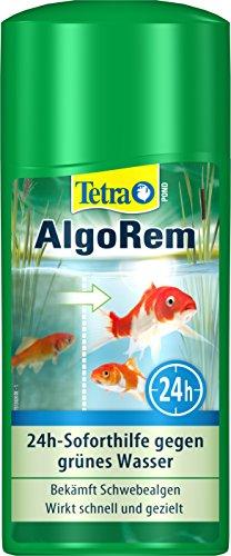 Tetra Pond AlgoRem (24-Stunden-Soforthilfe gegen grünes Wasser im Gartenteich), 500 ml Flasche