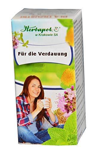 Gute Verdauung mit 6 Kräutern, 60 Kapseln - Regen Verdauung, Stoffwechsel an, beseitigen Blähungen, Bauchschmerzen, erleichtern Fettspaltung, zum Abnehmen, erfolgsprodukt Angebote