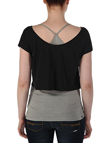 Bench T-shirt Annalitic - T-shirt de Maternité - Femme Multicolore (Jetblack)