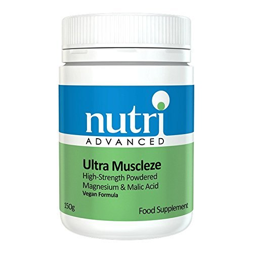 MegaMag Muscleze (Formerly Ultra Muscleze) – 162gram Powder by Nutri Advanced – Magnesium Supplement
