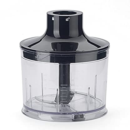 KeMar-Kitchenware-KSM-800-Basis-Stabmixer-Set-Edelstahldesign-800W-Titan-Klinge-Turbotaste-Stnder-inkl-Zubehr