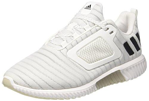 adidas Herren Climacool Laufschuhe, Weiß (Footwear White/core Black/Silver Metallic), 44 2/3 EU
