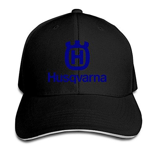 Master, berretto da baseball, regolabile con bottone sulla parte posteriore, della Husqvarna Motorcycles, Uomo, Nero , Taglia unica