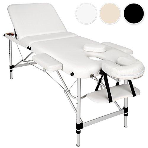 TecTake Table de Massage Pliante Aluminium...