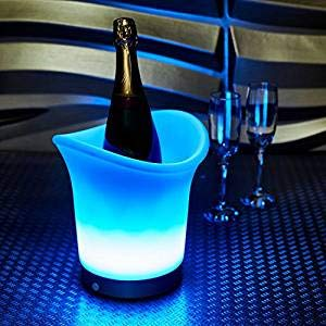Babz, LED Farbwechsel Ice Bucket-Änderungen, batteriebetrieben, 7 Farben - Mason Fruit Jars