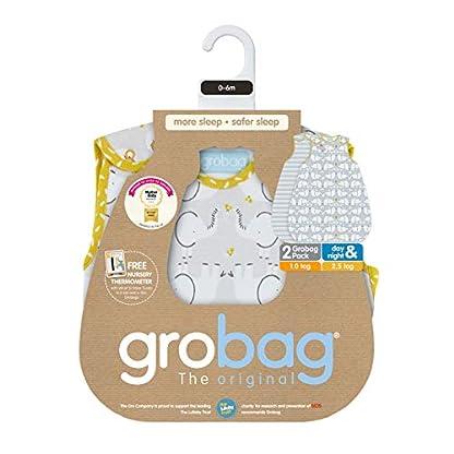 Grobag – Saco de dormir, diseño de elefante Talla:18-36 Months