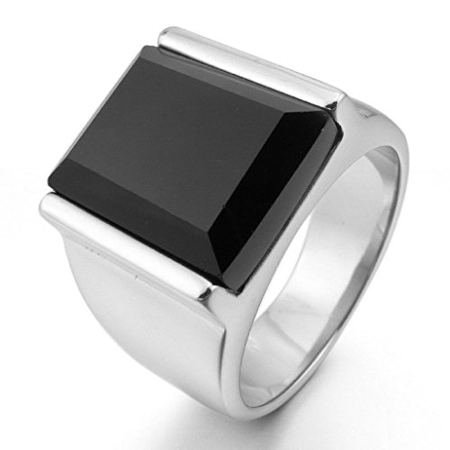 epinkifashion-jewelry-mens-stainless-steel-rings-agate-silver-black-rectangular-polished-size-p-1-2