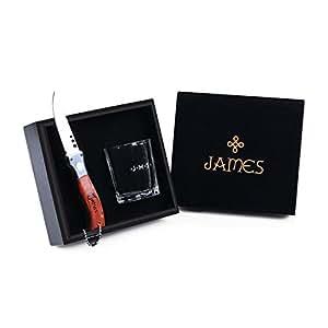personalisierte schnapsglas taschenmesser geschenke f r m nner mit geschenkbox. Black Bedroom Furniture Sets. Home Design Ideas