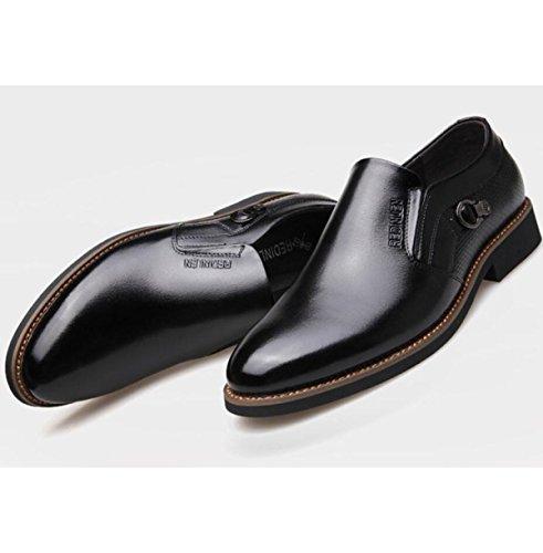 Scarpe Casual Di Moda Di Affari Di Moda Scarpe Da Ufficio High-end Black