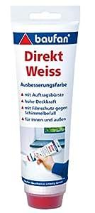 Baufan 014301008 Direkt Ausbesserungsfarbe, Weiß