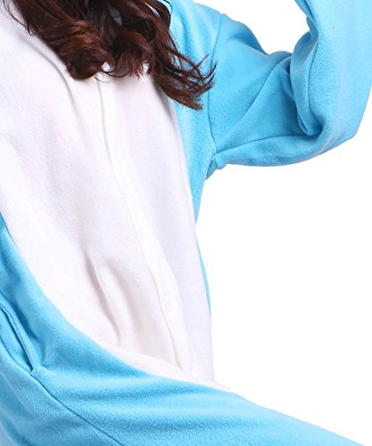 AKAAYUKO Uomini Donna Animali Onesies Kigurumi Costume Cosplay Homewear Narwhal