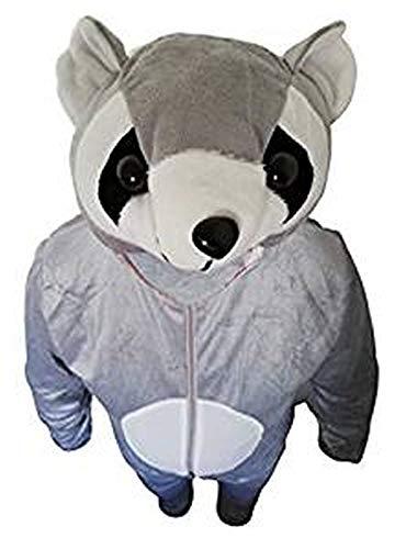 Waschbär Kostüm Frauen - Seruna Waschbär-Kostüm, J21/00 Gr. XL, Für hochgewachsene Männer und Frauen, Wasch-bär Kostüme Wasch-bären Kostüme Faschingskostüm, Fasching Karneval, Faschings-Kostüme, Geschenk Erwachsene