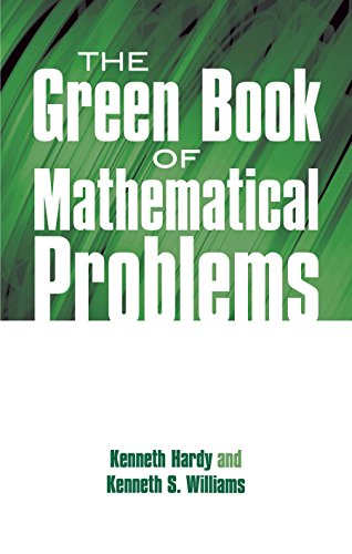 The Green Book of Mathematical Problems (Dover Books on Mathematics)
