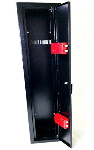 Progen 4Waffenschrank Safe Lock Aufbewahrungsbox für Schrotflinten Gewehr alle Feuerwaffe M1 - 8
