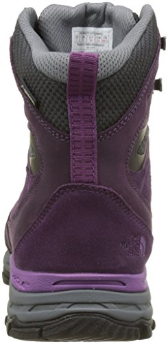The North Face Hedgehog Trek Gore-Tex, Chaussures de Randonnée Hautes Femme Multicolore (Blackberry Wine/wood Violet)