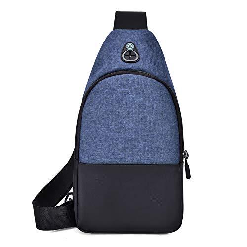 Yidarton Multifunktions Schultertasche Rucksack Crossbody Tasche Sling Tasche Wandern Dackpack EIN sollte Schultergurt für Männer und Frauen 17CMx7CMx32CM