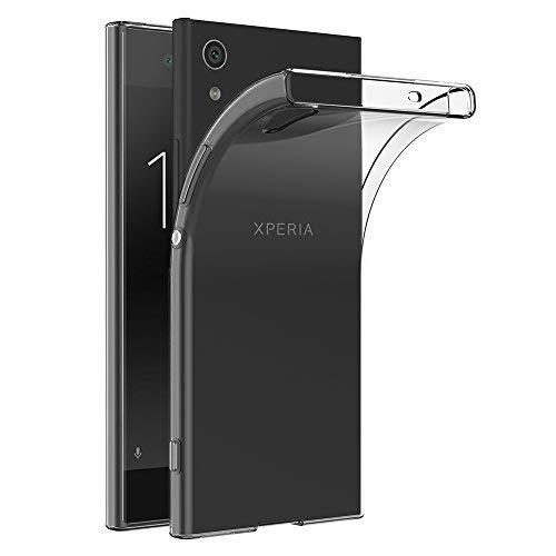 Sony Xperia XA1 Ultra Hülle, AICEK Transparent Silikon Schutzhülle für Xperia XA1 Ultra Case Crystal Clear Durchsichtige TPU Bumper Sony Xperia XA1 Ultra Handyhülle 6,0 Zoll