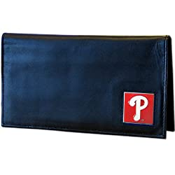 MLB Philadelphia Phillies Leather Checkbook Cover