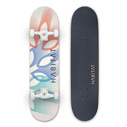 Habitat Skateboards Blatt Overlay komplett Skateboard Standard, 8,25, multicolor Habitat Skateboard Komplett