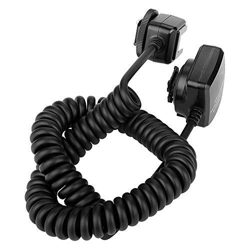 Meike MK-FA02 3m TTL-Kabel, Blitzkabel Geeignet für Sony MI Blitzschuh-Speedlites
