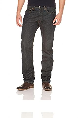 Levi's® 501® Jeans - Regular Straight Fit - Stonewash - Onewash - Marlon Wash - Black - Light Broken In, Größe:W 42 L 34;Wash:marlon wash (00501-0162) -2er