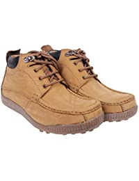 FOX HUNT Nerona Men's Brown Leather Boot