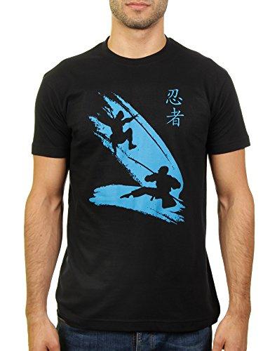 Im Dienst der Pflicht - Herren T-Shirt von Kater Likoli Deep Black