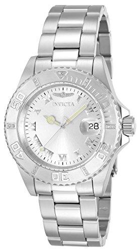 Invicta 12819 – Reloj de Señora movimiento de cuarzo con brazalete metálico