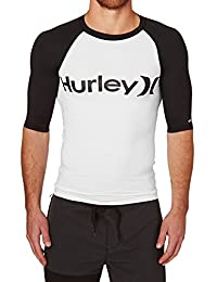 Hurley T-Shirt Maniche Corte UOMO Desert Trip Black White M YNXAAWF
