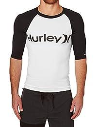 Hurley T-Shirt Maniche Corte UOMO Desert Trip Black White M