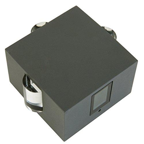 LED-Außenwandleuchte Inkl. LEDs 6 W, 110 lm, Neutralweiß (4.000 K)