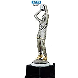 Trofeo Baloncesto–H cm 36,5–Acabado Con Grabado–Made in Italy