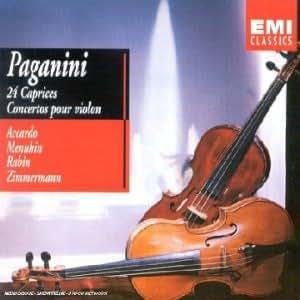 Paganini : 24 Caprices ; Concertos pour violon