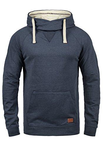 BLEND 703585ME Sales Herren Kapuzenpullover Hoodie Sweatshirt aus hochwertiger Baumwollmischung, Größe:L, Farbe:Navy (70230)