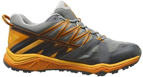 The North Face M Hedgehog Fastpack Lite Gtx, Chaussures de Randonnée Homme, 7 EU Multicolore (Griffin Grey/zinnia Orange)