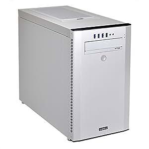 Lian Li PC-A51Midi-Tower Argent Unité centrale–Boitier d'ordinateur (Midi-Tower, PC, aluminium, ATX, Micro-ATX, argent, 40cm)