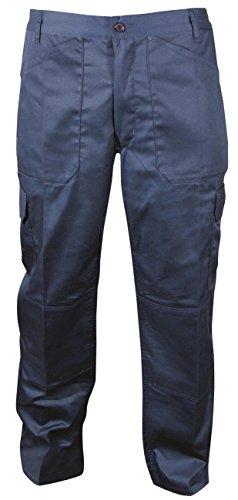 Blackrock Herren Lang Bein Länge Active Cargo Hosen–Marineblau, 81,3cm