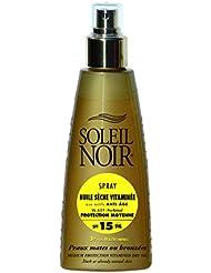 SOLEIL NOIR 62 Spray Huile Sèche Vitaminée 15 Protection Moyenne