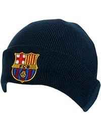 FCB Barcelona - Gorro de Punto – Azul Marino.
