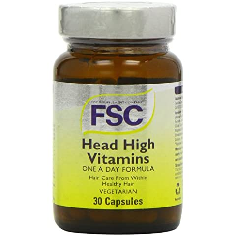FSC Head High Hair Vitamins and Minerals - Pack of 30 Capsules
