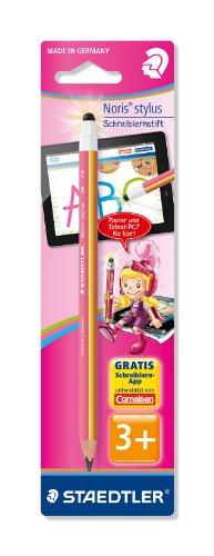 Staedtler 11920-20BK Noris stylus Schreiblernbleistift für Mädchen, pink