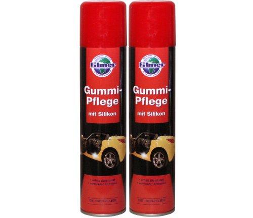 2x 300ml Spraydose Gummipflege Gummireiniger