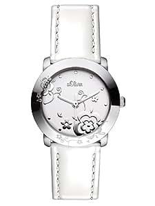 s.Oliver Damen-Armbanduhr XS Analog Quarz Leder SO-2600-LQ