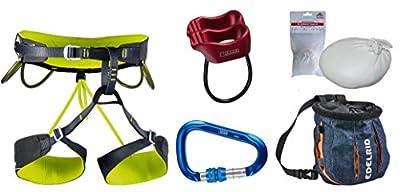 Kletter-Set Camp ONE - Klettergurt Größe M + Karabiner + Tube + Chalkball + Chalkbag von Camp