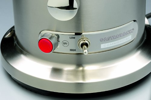 Gastroback 40133 Design Juicer Advanced Pro Schalthebel