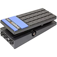 Bespeco VM14 - Pedal de volumen estéreo para guitarra, color negro
