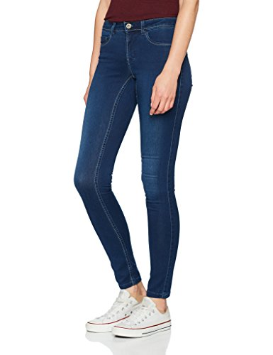 ONLY Damen Skinny Jeans 15140454, Blau (Medium Blue Denim), 40/L30