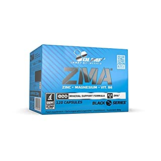 Olimp ZMA | Zink, Magnesium und Vitamine | 120 Kapseln | 1er Pack (1 x 111,6 g)