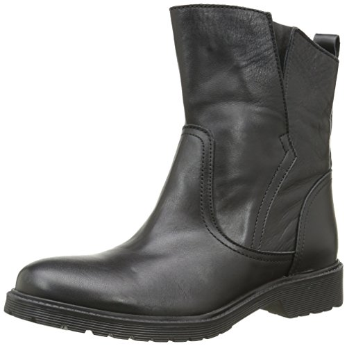 Buffalo Damen 8036 Antique Stiefeletten, Schwarz (Black 01 00), 38 EU
