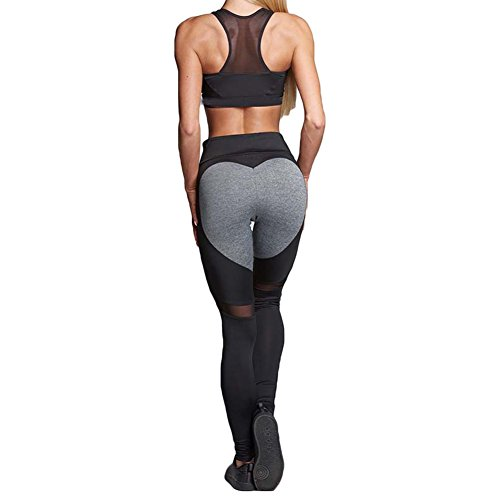 Damen Trainingshose Sweatpants hibote Hohe Taille Slim Fit lange Hose Leggins Laufhose Basic Fitness Sporthose Casual Pants Jogginghose in...